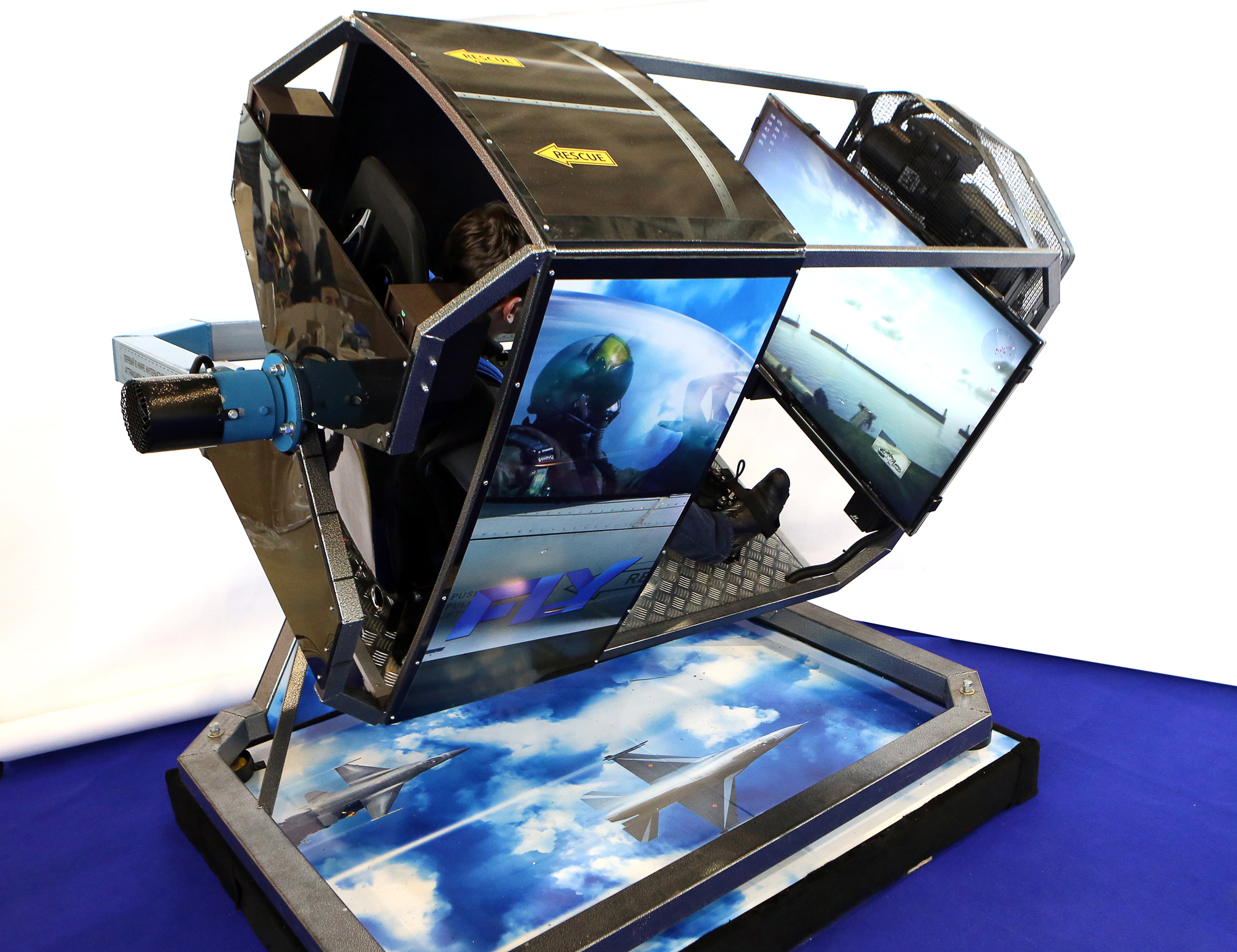About simulator - FLY-Motion - Flight simulator 360°