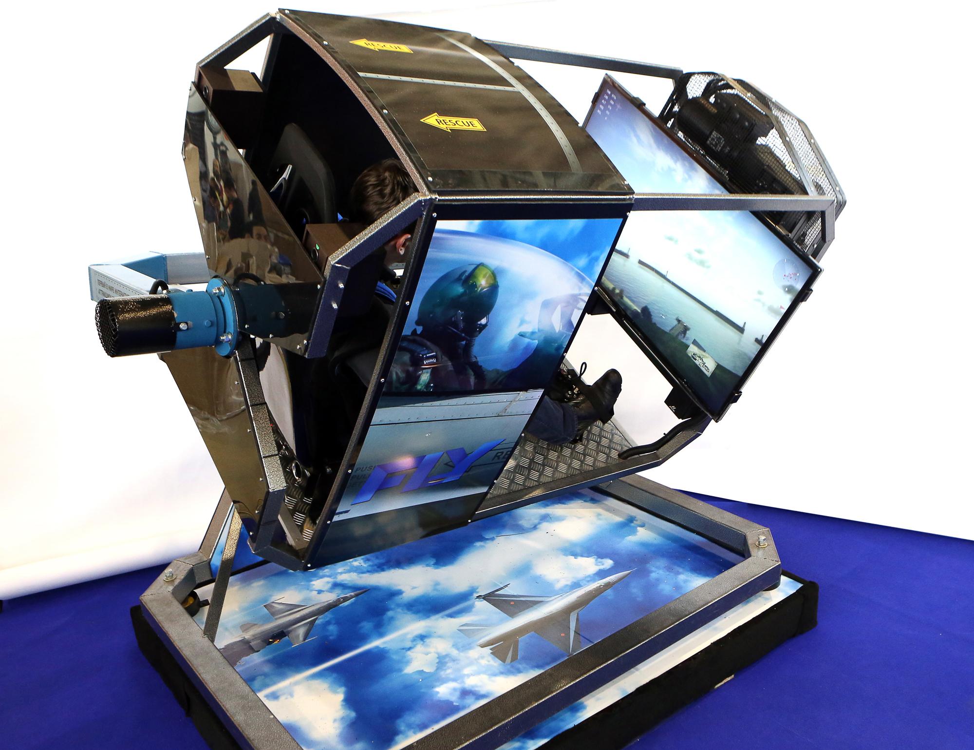 About Fly Flight 360° Simulator Motion 8vNwn0m